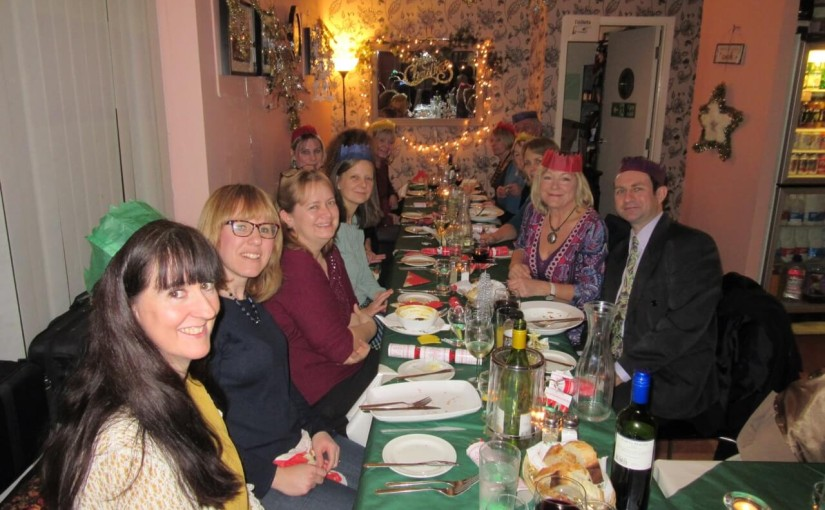 Christmas Meal at Gilly's Cafe