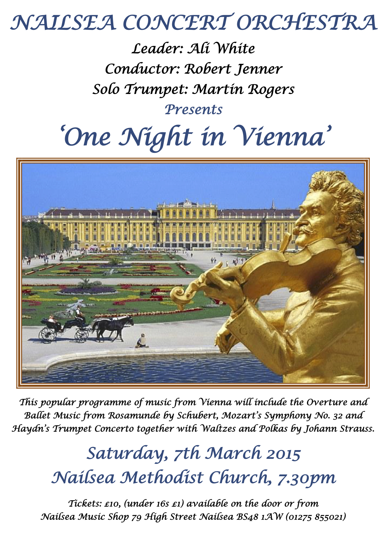 Poster Mar-15 One Night in Vienna-1
